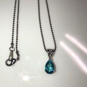 Jewelry - Topaz Teardrop Necklace